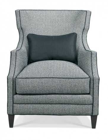 Image of Wing Chair with Nailhead Trim
