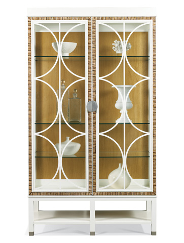 Image of Bunching Lighted China Cabinet