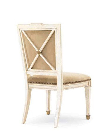 Hickory White - X-Back Side Chair - 731-64