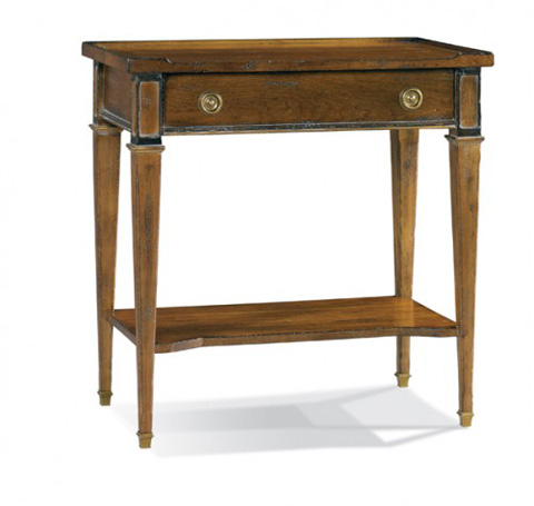 Hickory White - Side Table with Drawer - 733-21