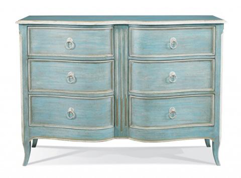 Hickory White - Six Drawer Dresser - 865-31