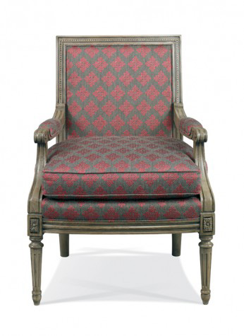 Hickory White - Exposed Wood Accent Chair - 884