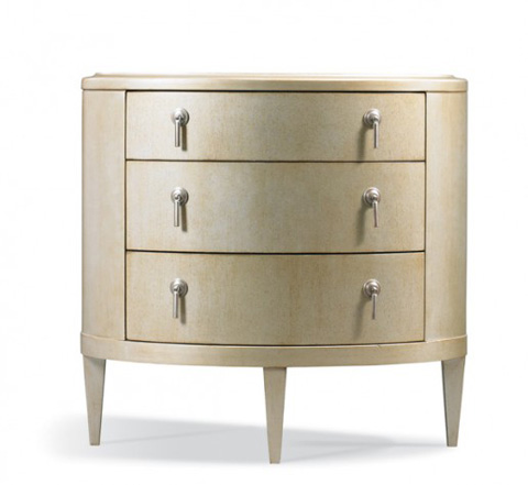 Image of Oval Bedside Table
