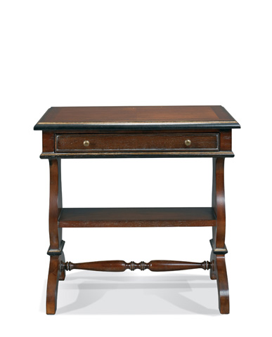Hickory White - Gabriela Library Table - 143-22