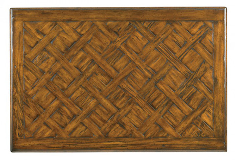 Hickory White - Rectangular Cocktail Table - 893-10
