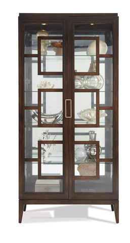 Hickory White - Rhodes Curio Cabinet - 440-41