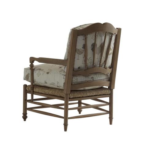 Highland House - Bastide Rush Seat Arm Chair - 1053