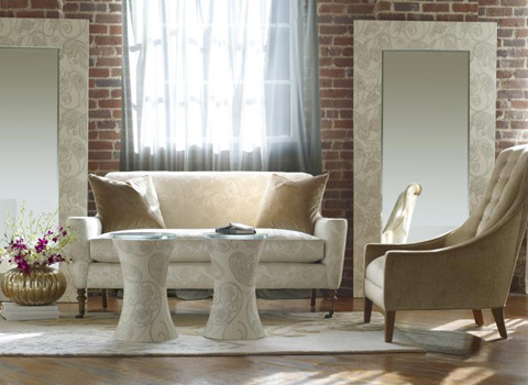 Highland House - Solitaire Settee - CA6032-68