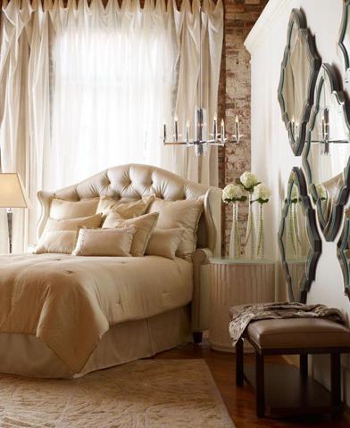 Highland House - Diva Upholstered Headboard - CA6900KHB