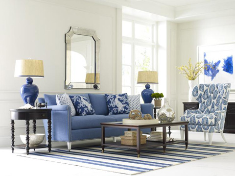 Highland House - Lombard Sofa - BB8018-94