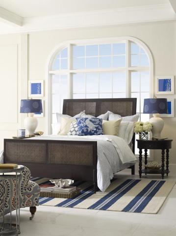 Highland House - Katharine King Bed - HH25-136-BR