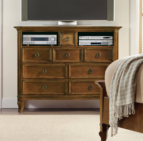 Hooker Furniture - Windward Media Chest - 1125-91011