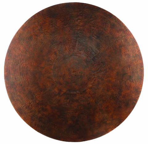 Hooker Furniture - Sanctuary 48in Copper Dining Table - 3005-75213