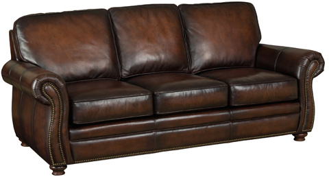 Image of Thompson Sofa in Sedona Chateau Leather