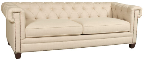 Image of Chester Sofa in Linosa Linen