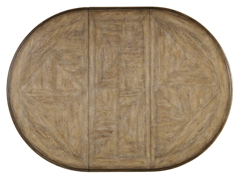 Hooker Furniture - Pedestal Dining Table with One Leaf - 5291-75203