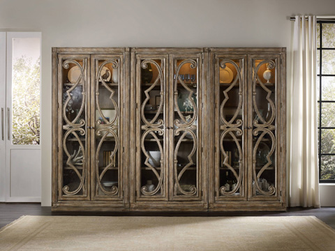 Hooker Furniture - Bunching Curio Cabinet - 5291-50001