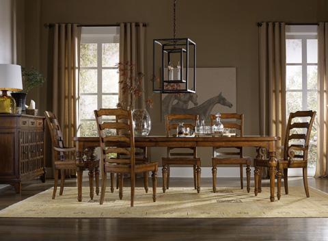 Hooker Furniture - Ladderback Arm Chair - 5323-75300