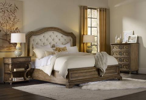 Hooker Furniture - Upholstered Panel Bed - 5291-90866