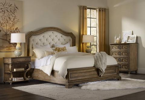 Hooker Furniture - Solana Queen Upholstered Panel Bed - 5291-90850