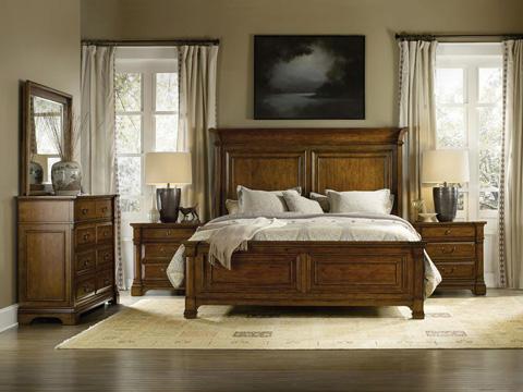 Hooker Furniture - Tynecastle Queen Panel Bed - 5323-90250