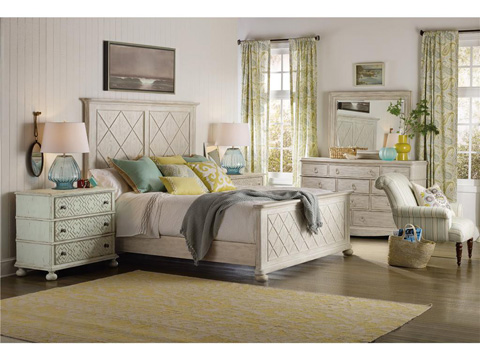 Hooker Furniture - Sunset Point Queen Fretwork Panel Bed - 5325-90250