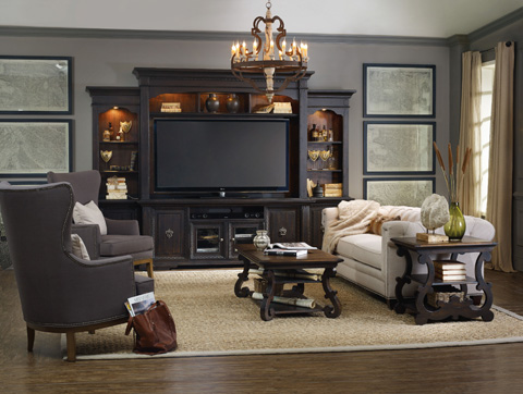 Hooker Furniture - Treviso Four Piece Wall Group - 5374-70222