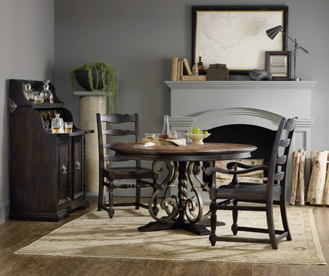 Hooker Furniture - Treviso Ladderback Side Chair - 5374-75310