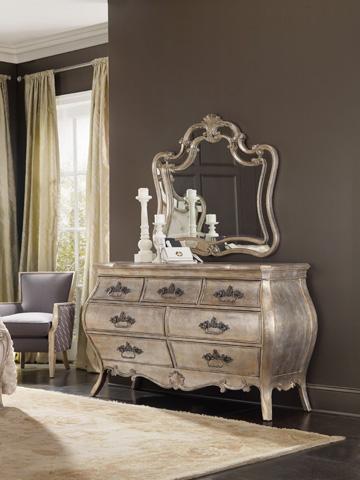 Hooker Furniture - Sanctuary Bardot Shaped Mirror - 5413-90009