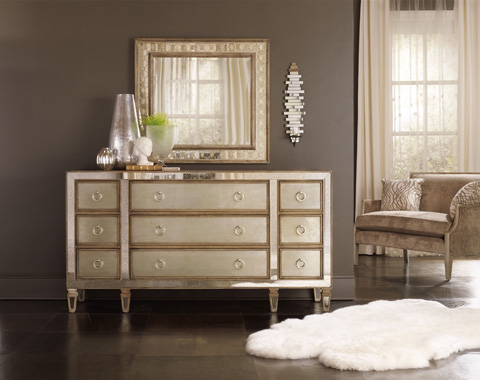 Hooker Furniture - Sanctuary Avalon Rectangle Mirror - 5414-90009