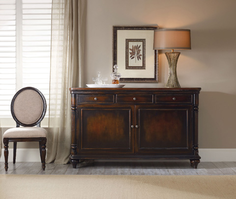 Hooker Furniture - Eastridge Oval Back Side Chair - 5177-75410
