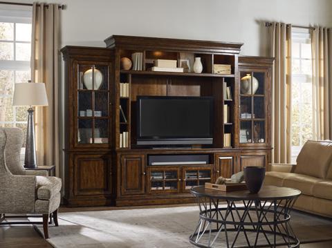Hooker Furniture - Brantley Four Piece Entertainment Center - 5302-70222
