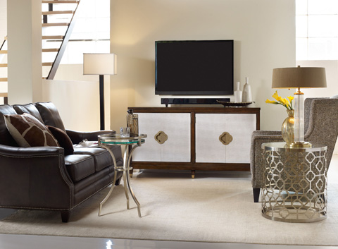 Hooker Furniture - Skyline Entertainment Console - 5336-55464