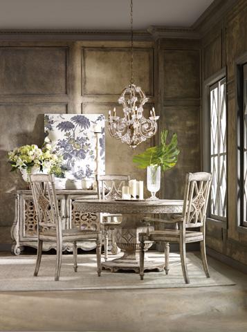 Hooker Furniture - Chatelet Fretback Arm Chair - 5351-75300