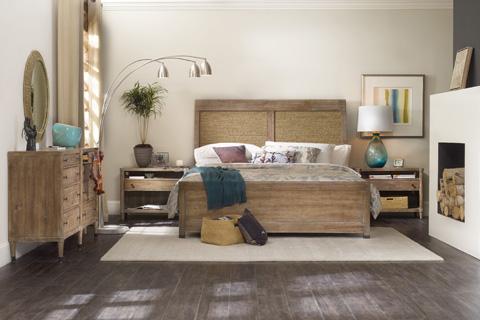Hooker Furniture - Studio 7H Noble Rope King Panel Bed - 5382-90266