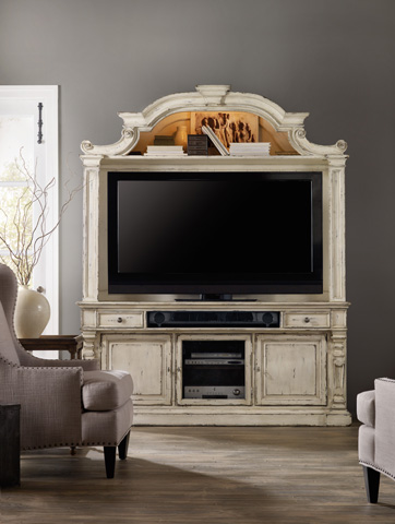 Hooker Furniture - Sanctuary Two Piece Entertainment Center - 5403-55202