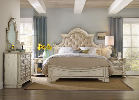 Hooker Furniture - Sanctuary King Upholstered Bed - 5403-90866