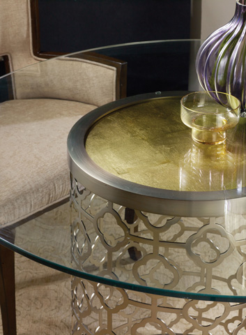Hooker Furniture - Skyline Round Glass Top Dining Table - 5536-75213