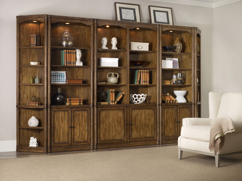 Hooker Furniture - Saint Armand Wall Bookcase - 5600-70448