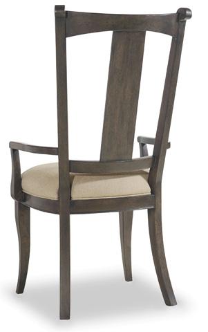 Hooker Furniture - Vintage West Upholstered Splatback Arm Chair - 5700-75400