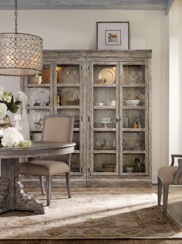 Hooker Furniture - True Vintage Bunching Curio - 5701-75902