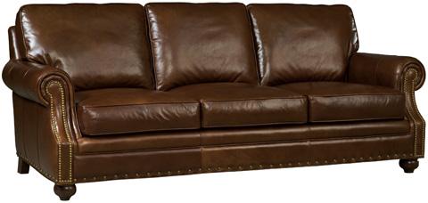 Hooker Furniture - Jennings Sofa in Sonata Largo Leather - SS138-03-087
