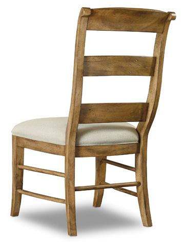 Hooker Furniture - Archivist Ladderback Side Chair - 5447-75710-TOFFEE