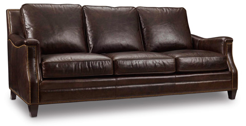 Image of Bradshaw Sofa in Huntington Collis Leather