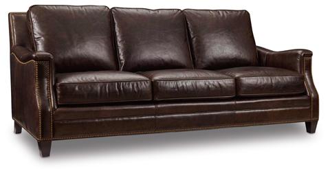 Image of Bradshaw Sofa in Huntington Collis Leather