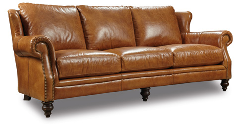 Image of Hampton Sofa in Huntington Morrison Leather