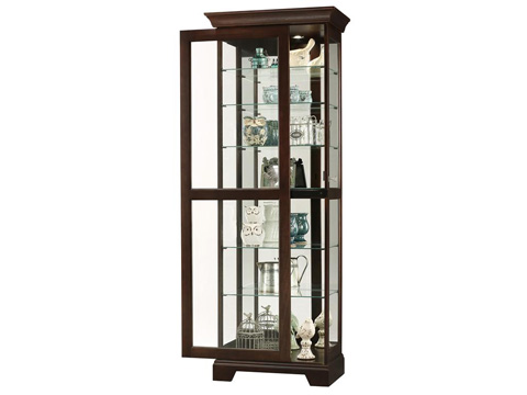 Howard Miller Clock Co. - Martindale II Display Cabinet - 680-577