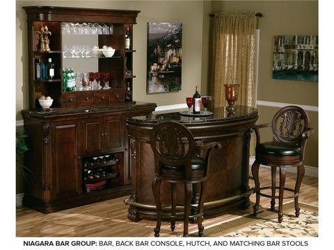 Howard Miller Clock Co. - Niagara Barstool - 697-001