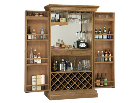 Howard Miller Clock Co. - Clare Valley Wine and Bar Cabinet - 695-152