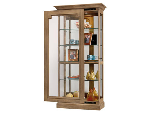 Howard Miller Clock Co. - Caden Display Cabinet - 680-607